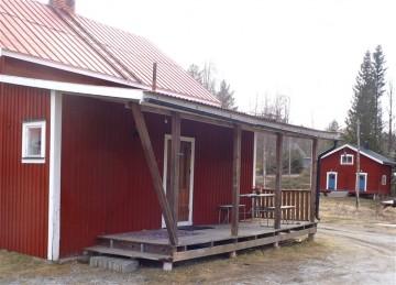 Bodumsstugan vid Rossöns GK´s golfbaneanläggning.